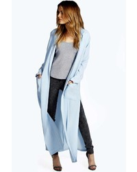 Boohoo Linn Split Side Duster Coat