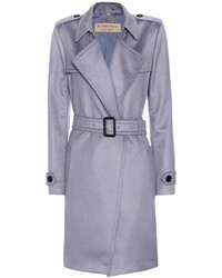 Burberry Cashmere Wrap Trench Coat