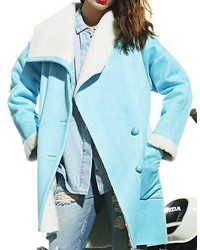 ChicNova Lapel Medium Style Coat