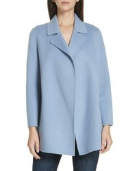 Theory Clairene New Divide Wool Cashmere Coat
