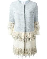 Dondup Frayed Woven Coat