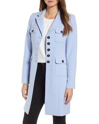 KARL LAGERFELD PARIS Double Weave Topper Coat