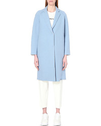 mo&co. Fleece Lined Wool Blend Coat