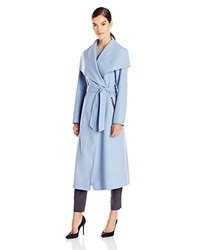 Mackage Mai Doubleface Wool Belted Wrap Coat