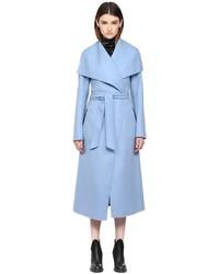 Mackage Mai F5 Bluegrey Long Doubleface Wool Coat