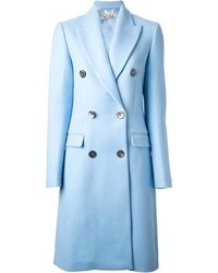Michael Kors Michl Kors Peaked Lapels Double Breasted Coat