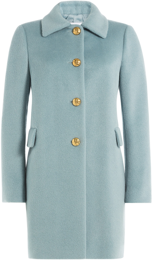 RED Valentino Red Valentino Coat With Alpaca And Wool