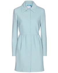 RED Valentino Redvalentino Cotton And Wool Blend Coat