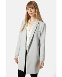 Topshop Crepe Tailored Coat
