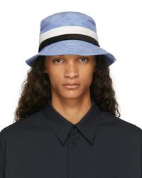 Marni Blue Corduroy Fisherman Bucket Hat
