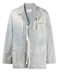 Maison Margiela Tie Front Corduroy Shirt Jacket