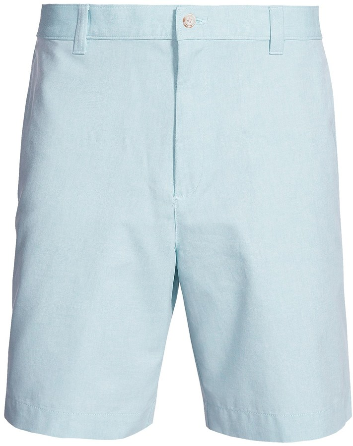 Light Blue Khaki Shorts - The Else