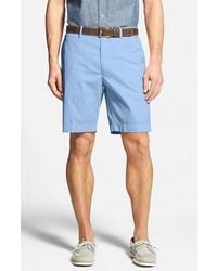 Bobby Jones Stretch Cotton Flat Front Shorts