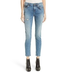 Blue billy crop skinny jeans medium 4154964