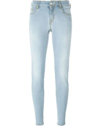 Jacob Cohen Stonewash Effect Skinny Jeans