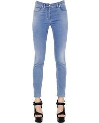 Versace Skinny Cotton Stretch Denim Jeans