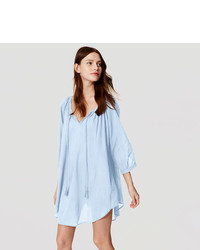 LOFT Beach Tie Neck Swimsuit Coverup