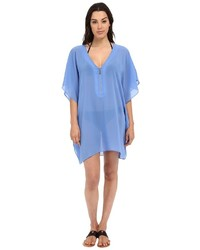 MICHAEL Michael Kors Michl Michl Kors Draped Solids Tunic Cover Up