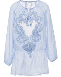 Emamo Mini Caftan With Lace Detail