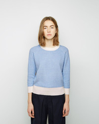 Band Of Outsiders Colorblocked Knit