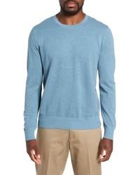 J.Crew Cotton Cashmere Pique Crewneck Sweater
