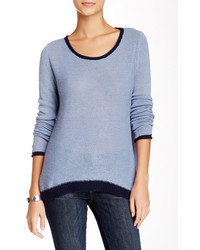 Kier J Tipped Cashmere Sweater