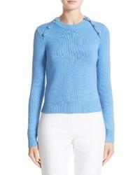 Michl kors raglan cashmere sweater medium 3695219