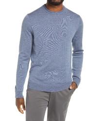 Nordstrom Men's Shop Nordstrom Merino Crewneck Sweater
