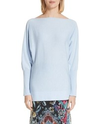 Fuzzi Off The Shoulder Wool Sweater