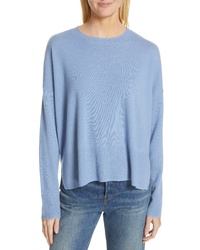 Nordstrom Signature Side Vent Crewneck Sweater