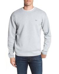 Lacoste Textured Stitch Crewneck Sweater