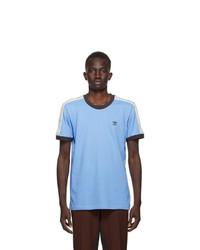 Wales Bonner Blue Adidas Originals Edition Logo T Shirt