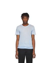 Rick Owens Blue Basic T Shirt