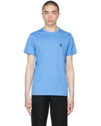 Burberry Blue Cotton Tb T Shirt