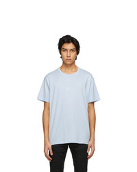 Givenchy Blue Embroidered Refracted T Shirt