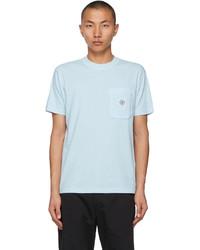 Stone Island Blue Fissato T Shirt