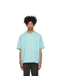Kenzo Blue Logo T Shirt