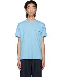 Comme Des Garcons SHIRT Blue Logo T Shirt
