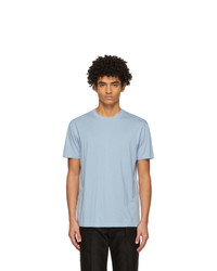 Tom Ford Blue Lyocell Jersey T Shirt