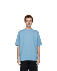 Drôle De Monsieur Blue Nfpm T Shirt