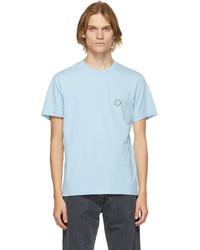 Carne Bollente Blue Organic Cotton Have A Fruit T Shirt