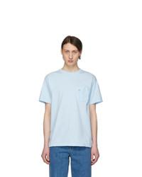 Noah NYC Blue Pocket T Shirt