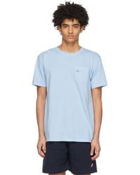 Noah Blue Pocket T Shirt