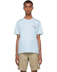 Thom Browne Blue Pocket T Shirt