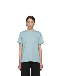 A.P.C. Blue Pol T Shirt