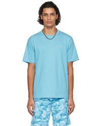 BAPE Blue Shark One Point T Shirt