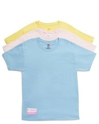 Hanes Juicy Couture Assorted 3 Pack Crewneck Tees