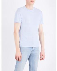 Sandro Marl Effect Linen T Shirt