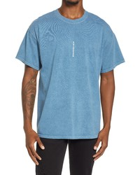 Topman Oversize Vertical Anywhere Cotton Graphic Tee