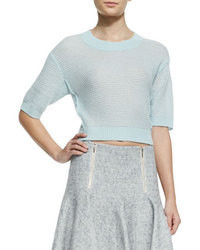 Light blue cropped sweater original 4662314